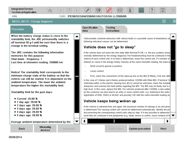 BMW Energy Diagnosis » Bimmerscan