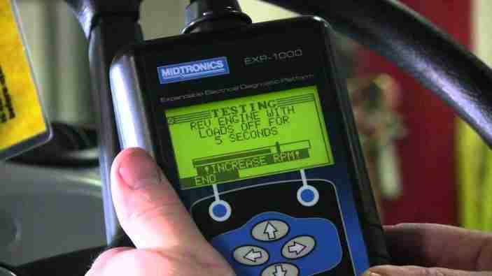 BMW Voltage System Test