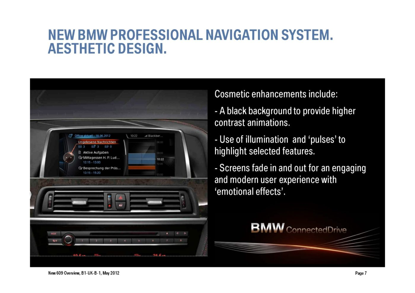 how to use bmw navigation system